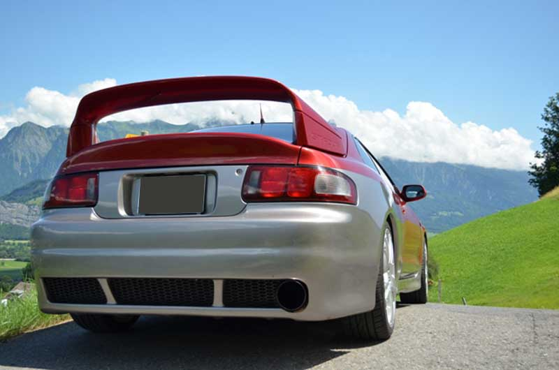 ******* GT FOUR Drivers Club Switzerland *******  Fahrzeug: GT FOUR ST  205 -  Driver: Diethelm