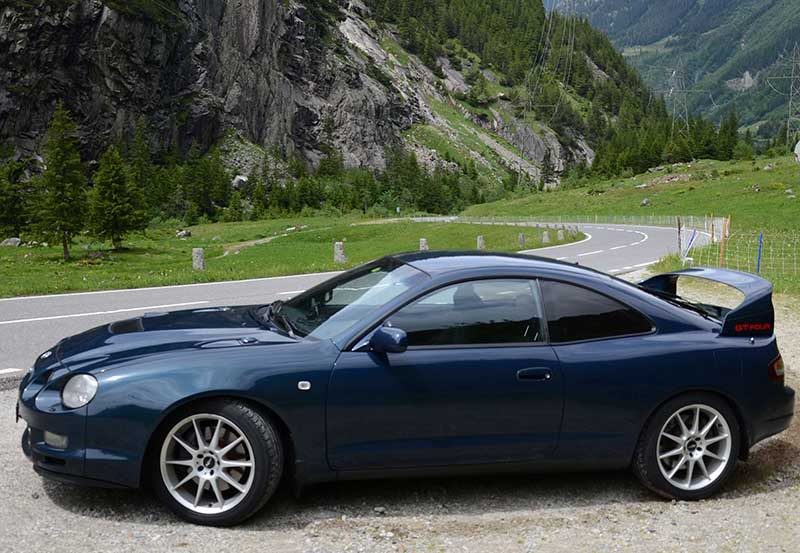******* GT FOUR Drivers Club Switzerland *******  Fahrzeug: GT FOUR ST  205 - Driver: Daniel